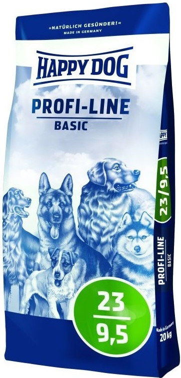 Happy Dog Profi Krokette 23/9,5 Basic 20kg