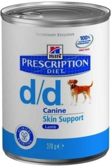 Hill's Canine D/D Lamb&Rice konzerva 370g