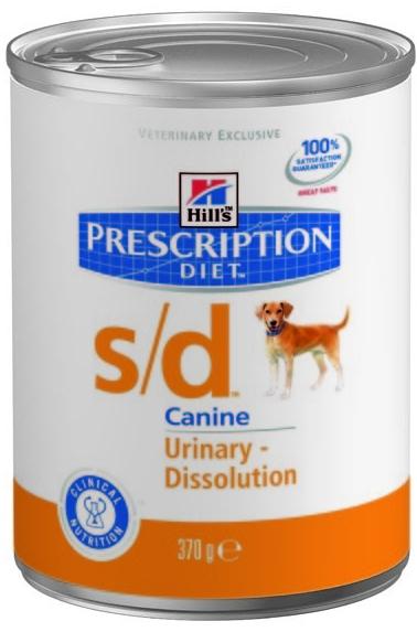 Hill's Canine S/D konzerva 370g