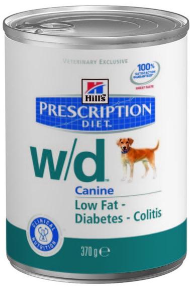 Hill's Canine W/D konzerva 370g