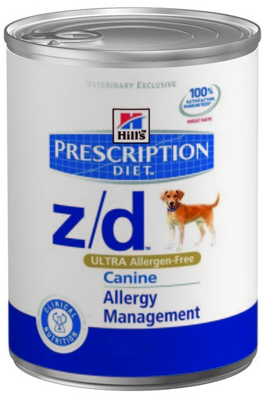 Hill's Canine Z/D Ultra Alergen Free konzerva 370g
