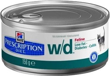 Hill's Feline W/D konzerva hrubě mletá 156g