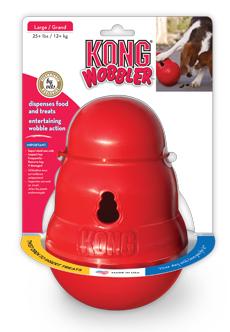 Hračka guma Wobbler Kong large