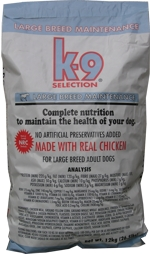 K-9 Selection Maintenance Large Breed Formula 20kg