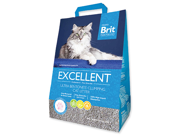 Kočkolit Brit Care Excelent Ultra Bentonite 10kg