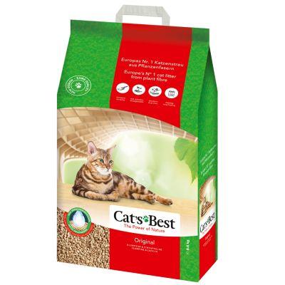 Kočkolit Cats Best ÖkoPlus 20l (8,6kg)