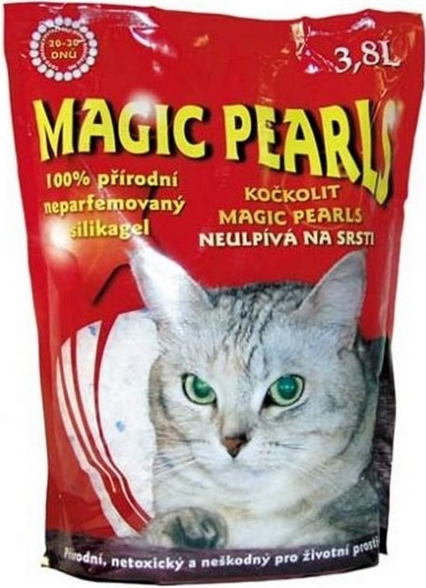 Kočkolit Magic Pearls 3,8l