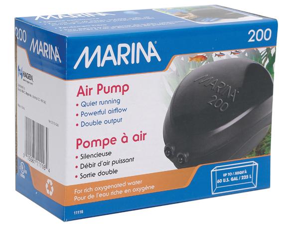 Kompresor MARINA 200, 2x110l/h 125-225l