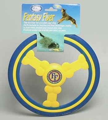 Létající talíř guma/plast plovoucí 25 cm