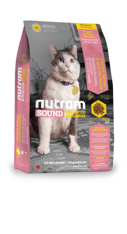 Nutram Sound Adult & Senior Cat 1,8kg