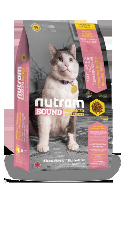 Nutram Sound Cat Adult & Senior 1,8kg