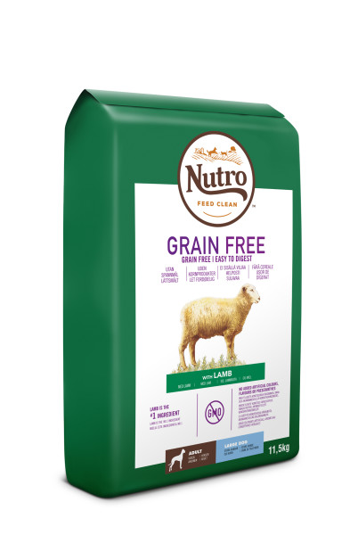 Nutro Dog Grain Free Adult Large Lamb 11,5kg