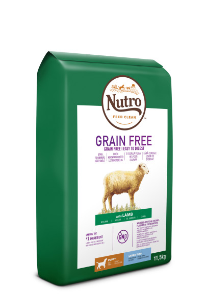 Nutro Dog Grain Free Puppy Medium Lamb 11,5kg