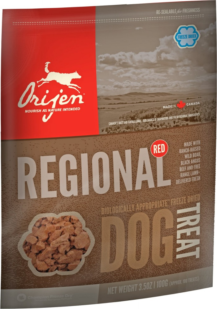 Orijen Dog Treats Regional Red 92g