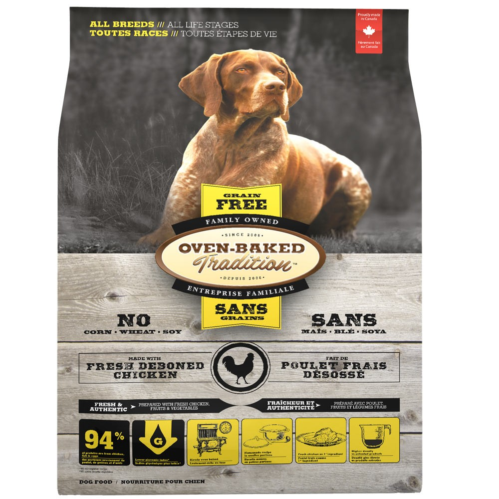 Oven-Baked Dog Adult Chicken Grain Free 12,25kg