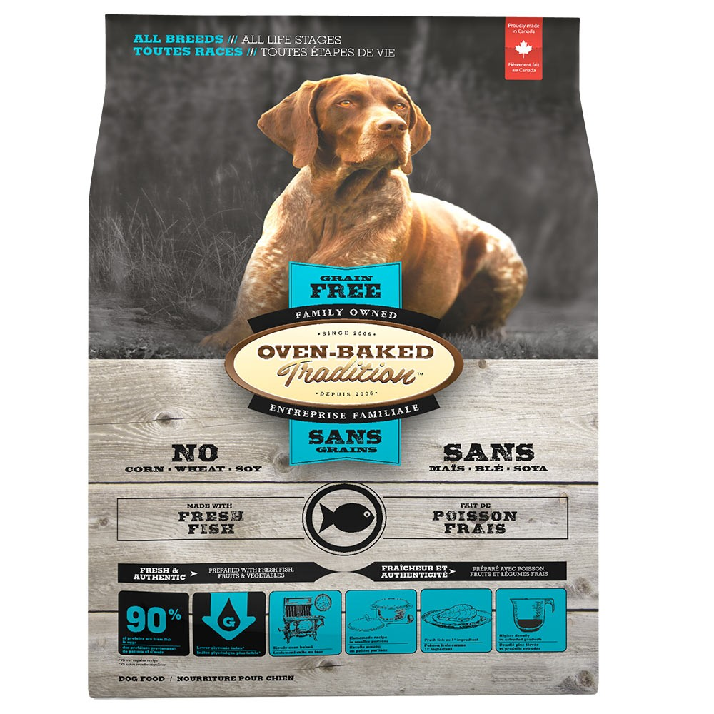 Oven-Baked Dog Adult Fish Grain Free 12,25kg