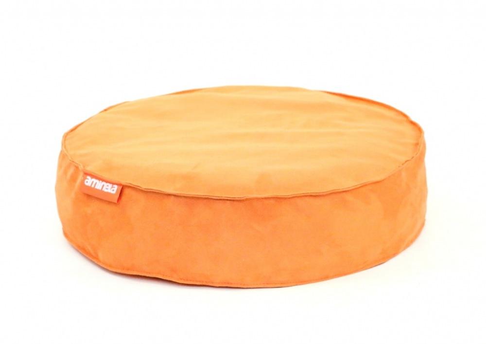Kulatý pelíšek Aminela Full comfort oranžový 50/12cm