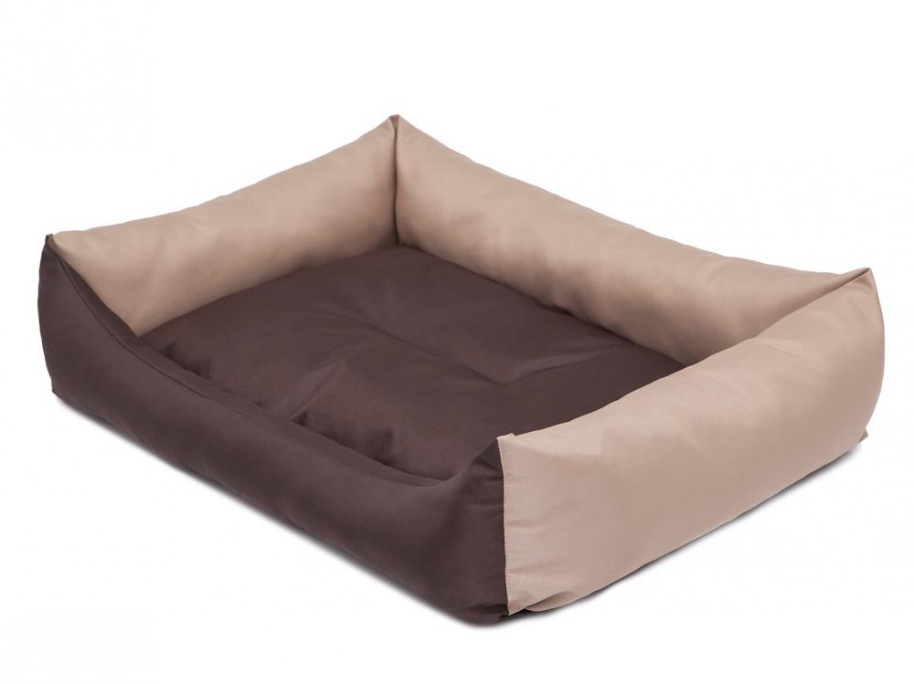 Pelech Eco Dog Bed hnědo/béžový XL