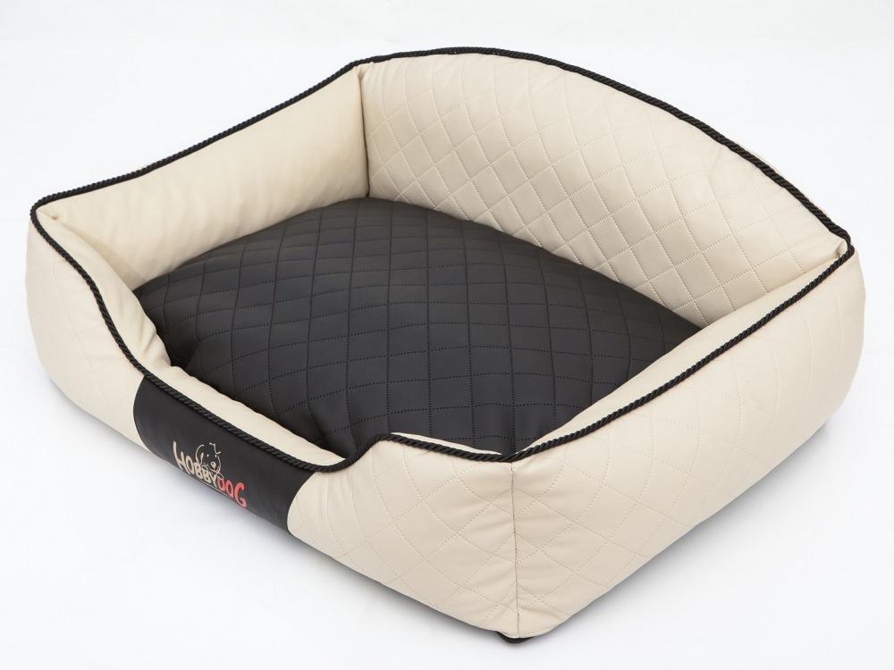 Pelech Elite Dog Bed černo/béžový XL