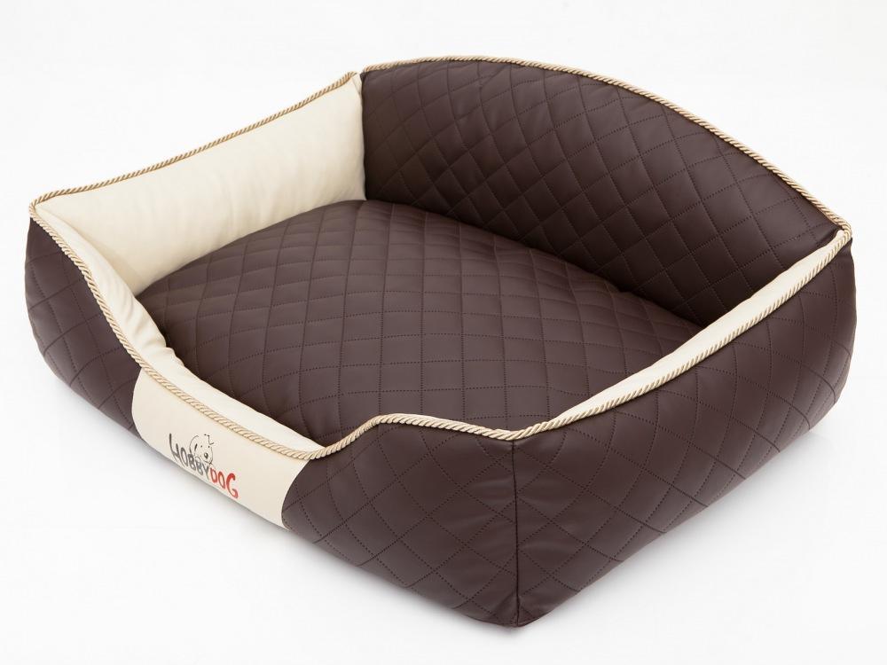 Pelech Elite Dog Bed hnědo/béžový XL