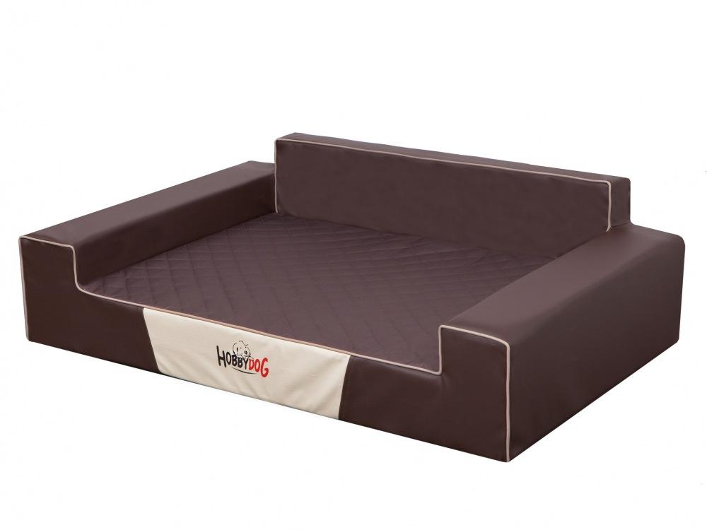 Pelech Glamour Dog Bed hnědý XL