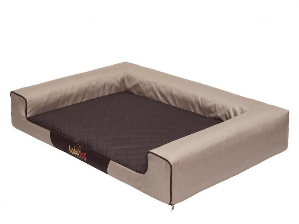 Pelech Victoria Dog Bed hnědo/béžový XL