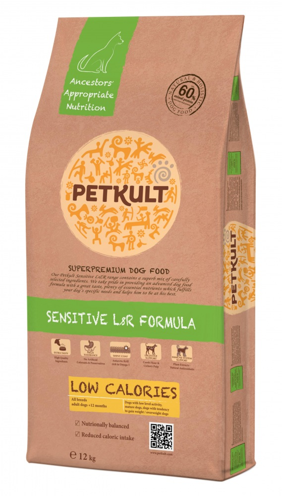 PETKULT Dog Low Calories Lamb & Rice 12kg