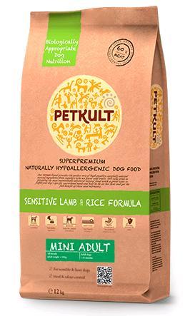 Petkult Dog Mini Adult Lamb & Rice 12kg