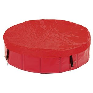 Plachta na bazén červená 80 cm