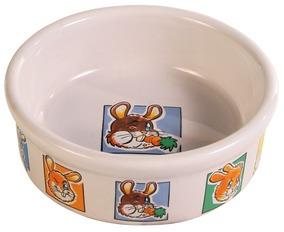 Porcelánová miska morče nebo králík 240ml/11cm TRIXIE