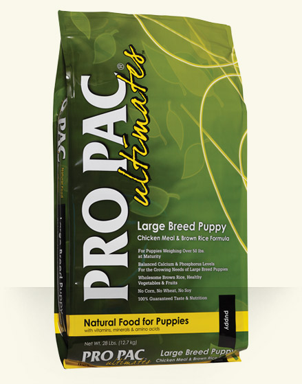 PRO PAC Puppy Large Chicken & Brown Rice 20kg