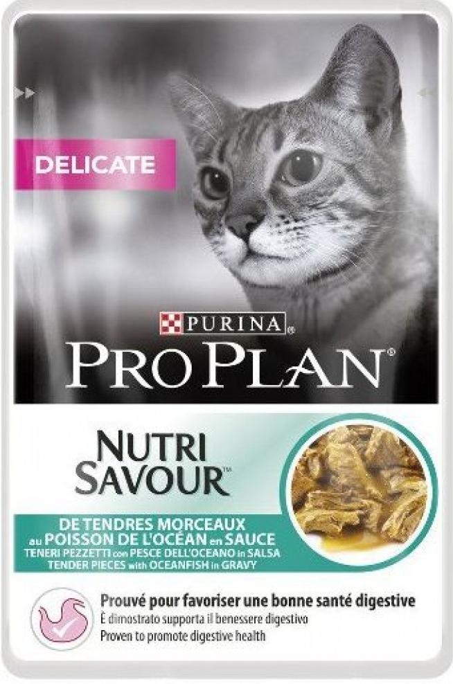 Pro Plan Kapsička Cat Delicate ryby 24x85g