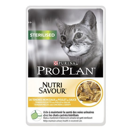 Pro Plan Cat Kapsička Sterilised kuře 24x85g