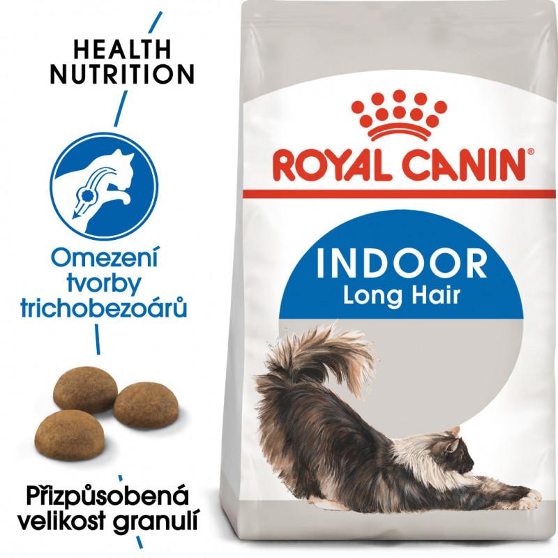 ROYAL CANIN Cat Indoor Long hair 10kg