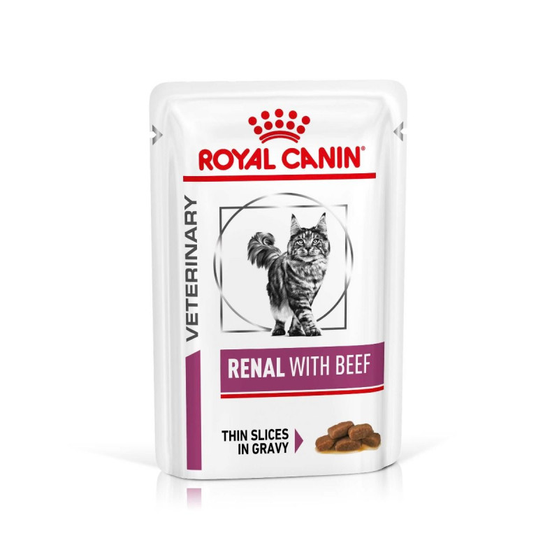 Royal Canin VD Cat Renal Beef 12x85g