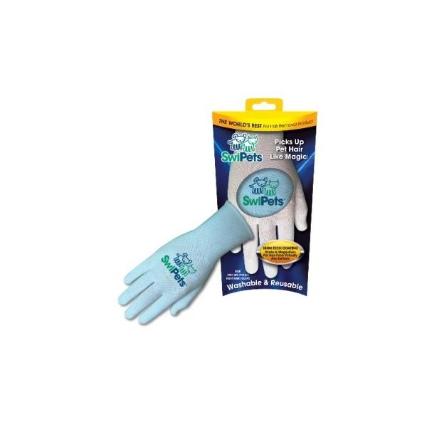 SwiPets Elektrostatická rukavice modrá - pravá ruka