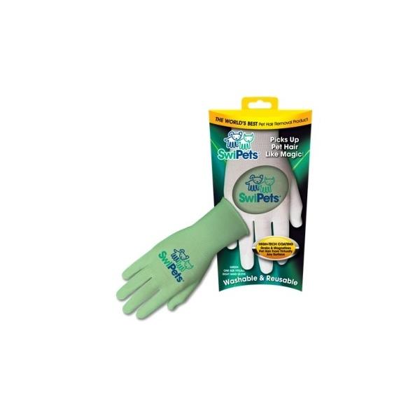 SwiPets Elektrostatická rukavice zelená - pravá ruka