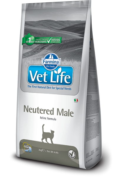 Vet Life Cat Natural Neutered Male 2kg