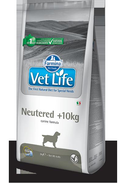 VET LIFE Dog Neutered >10kg 10kg