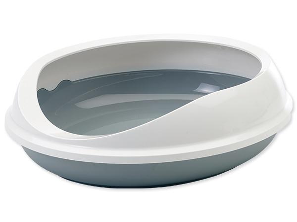 Toaleta SAVIC Figaro šedo-bílá