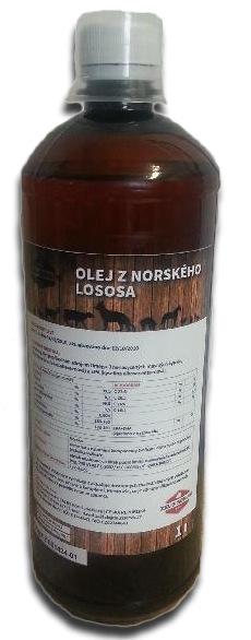 ZEUS Olej z Norského lososa 1l