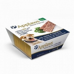 Applaws Paté Dog losos a zelenina 150g