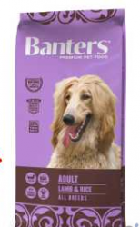 Banters Dog Adult Lamb&Rice