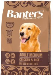 Banters Dog Adult Medium Chicken&Rice