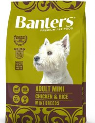 Banters Dog Adult Mini Chicken&Rice 8kg