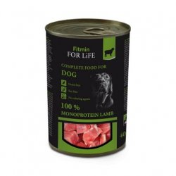 Fitmin For Life Dog konzerva Lamb 400g