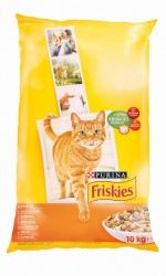 FRISKIES Cat kuře + zelenina
