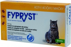 Fypryst spot on cat 1x0,5ml (kočka)