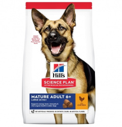 Hill's Canine Mature Adult 6+ Large Breed Chicken