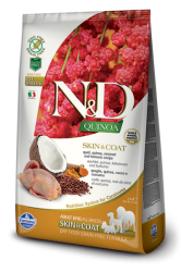N&D GF Quinoa Dog Skin&Coat Quail